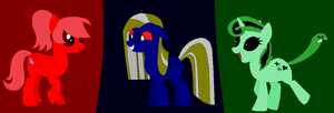 Mlp Serpentine Ponies by november123456789066