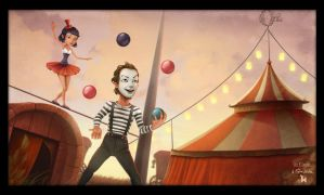 Oz Circus by clementmeriguet