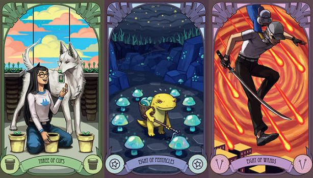 Homestuck Tarot Cards - emlan's by emlan