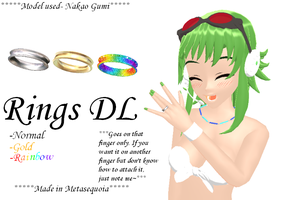 MMD-Rings DL by Shioku-990