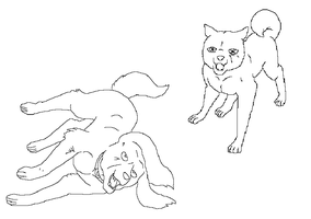 Ginga Lineart Free makeble 22 by MoonString
