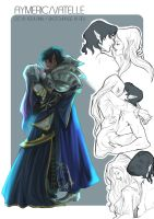 Sketchpage: Aymeric/Vetelle by FidisART