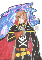 Captain Harlock by Skullgrin-140