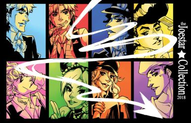 The joestar collection by KrazyD