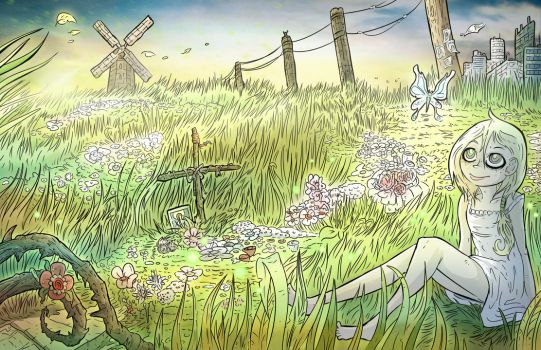 Lute in the meadow. by LutesWarmachine