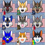 4th of July Icons by Anileu