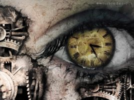 clockwork eye. by merrbie