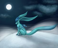 Glaceon by Raptori