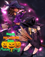 Happy Halloween 2016 collab by Zayarts