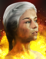 The Mother of Dragons by HueTwo