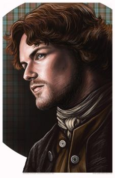 Outlander Jaime Fraser Portrait by AshleighPopplewell
