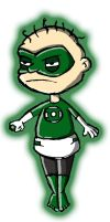 Tommy of the Green Lantern Corps by brounkandeemann