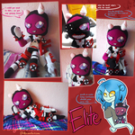 Elite the vortian plush collage by Miikage