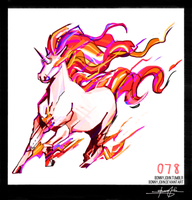 Rapidash!  Pokemon One a Day!