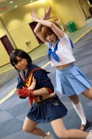 Mako and Ryuko Kill La Kill at MTAC! #4 by Lightning--Baron