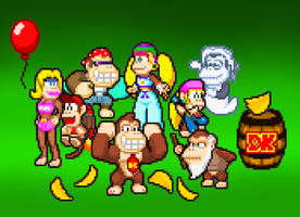 The Kong Family by PxlCobit
