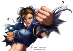 SF PROJECT chun li by gothicvampirehime