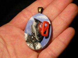 Zer0 the Assassin - 3D pendant Pic II by Ganjamira