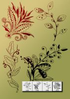 Decorative-flower-cs3 by designersbrush