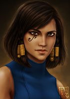 Overwatch - Pharah by trixdraws