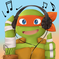 Music Mikey by ChitsukiLin69