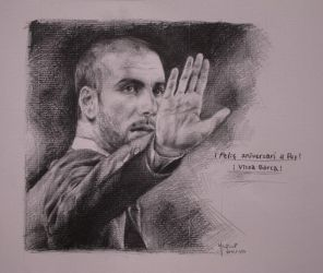 Pep Guardiola by juutooo