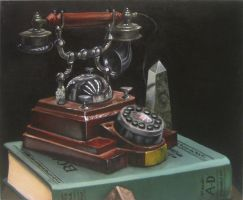 Phone Still Life by DSil