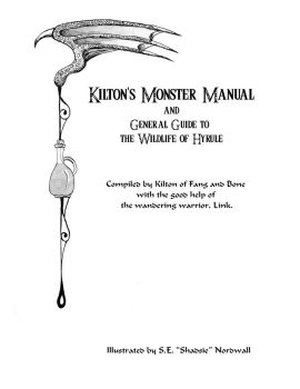 Kilton's Monster Manual Title Page by Shadsie