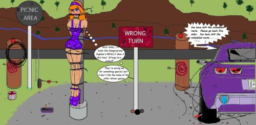 Wrong Turn Daphne 2 by Lesleyinheels