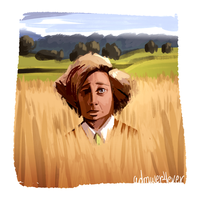 The Little Prince // The Fox // Gene Wilder by adrawer4ever