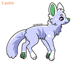 fox adopt by firewolfheart7 by QuestionUnicorn
