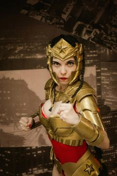 Wonder Woman - Injustice by shua-cosplay