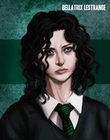 Harry Potter - Younger Bellatrix Lestrange by K-yon