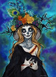 Stitched Catrina by whitelee