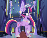 Future Twilight Sparkle by theponygaming