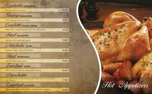 Condetti Restaurant menu by RoBNADER