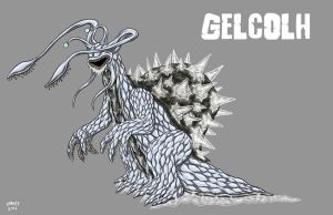 Kaiju Commissions - Gelcolh 2 by Bracey100