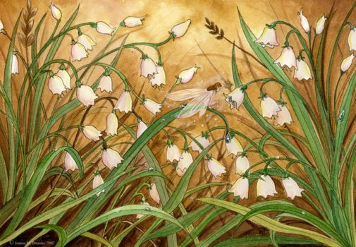 Lilly of the Valley by JoannaBromley