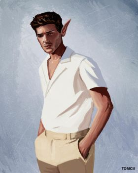 Elf Guy by Tom-Cii