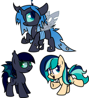 .::Commission::. Chirpy-Chi Chibis by Frozen--Star
