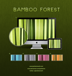 Bamboo Forest Wallpapers by JackieTran