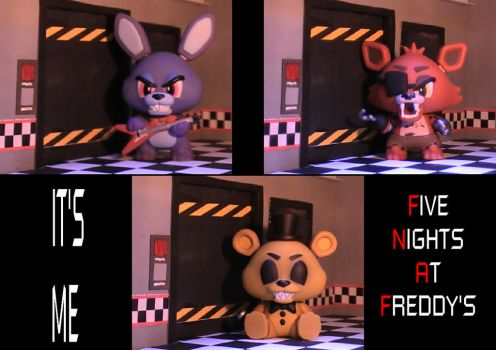 Fnaf Office Complete Set by Tesla51