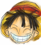 Luffy Headshot by myst-o