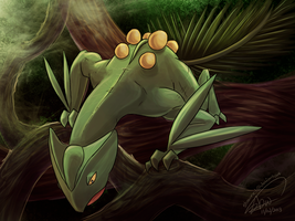 Sceptile, King of the Forest