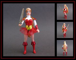 Princess Adora custom figure - outfit 2 by nightwing1975