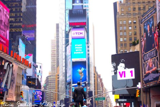 Times Square NY by steviegastelum