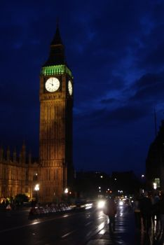 Big Ben at Night 1 by polarbearjess