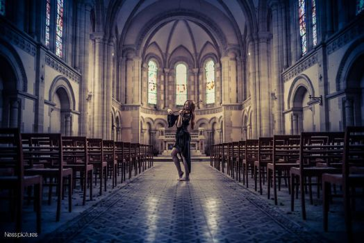Light of the church by Daisybells