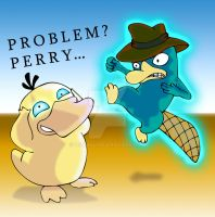 Perry the platypus vs Psyduck