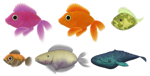 Fishes by allison731